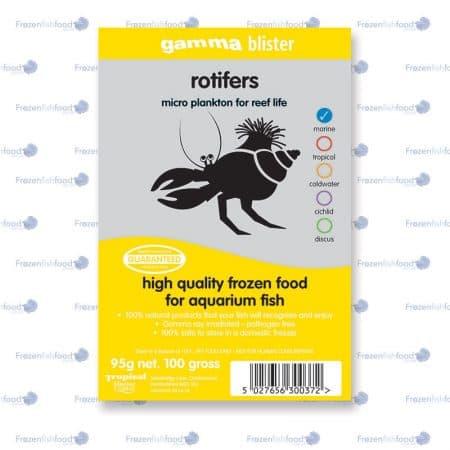 gamma Rotifers 100 gram blister pack