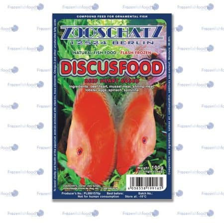 Discus food (Beef Heart based