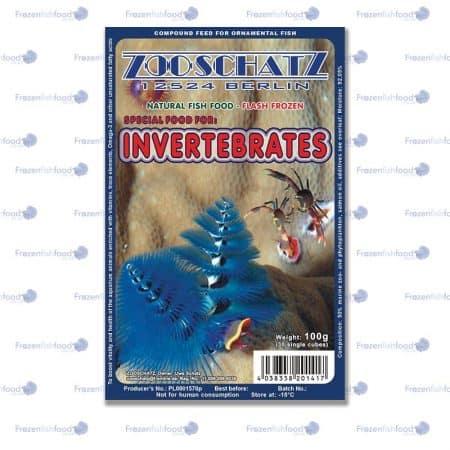 Invertebrates Special food